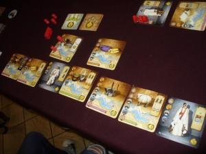 La zone de Tristan, mais, malheureusement pour lui, ses 7 objectifs réalisés ne suffiront pas pour gagner...