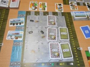 La zone de Sylvain, avec 6 de prestige et de 15 d'argent, donc 90 points de victoire.