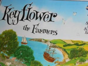 A peine 8 jours après y avoir joué, notamment avec l'extension Farmers, je ressors Keyflower afin de le faire découvrir à mon cousin et à Julie. Quel régal en perspective...