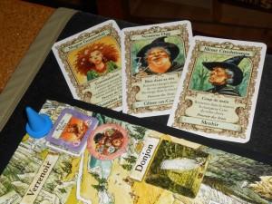 Joli, joli mon gone : il détruit le Roi des Elfes en défaussant trois de ses cartes possédant le fameux et légendaire Pouvoir des Trois. Du coup, le problème est résolu sans même combattre. Et ça élimine un elfe, et ça c'est cool...