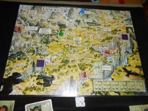 Voici le plateau final, où le jeu ne nous aura pas fait subir la défaite ! Yes !!!