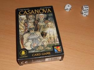 Casanova aimait les femmes et... les jeux d'argent ! Ah bon ? En tout cas, on s'apprête à rejouer à ce jeu, près de 10 ans après l'avoir oublié sur une étagère. J'aime bien les journées thématiques, rien que pour ça : faire ressortir des jeux que l'on a pu aimer dans le passé.