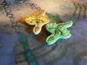 """Deux dragons sur la même case ? Ca sent la pioche dans un sac ça... Pour """"piquer des rubis"""" comme dit Leila."""