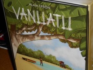Vanuatu possède un look graphique relativement original, avec des tons pastels et des dessins style BD, que j'affectionne particulièrement.