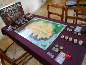 Et la table de Java, notre deuxième jeu de la journée, nous tend les bras...