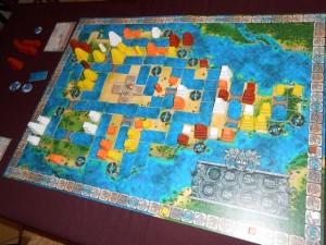 Et voici la vue finale de la partie de Mexica de l'autre table...