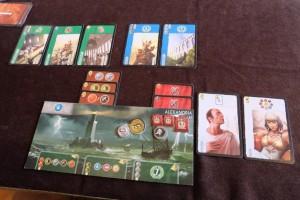 Fin de deuxième âge, avec mes débuts dans la construction de cartes bleues, comme souvent au deuxième âge, et ma première série complète verte (ça, c'est fait !)...