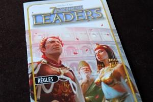 Retour à 7 Wonders ! Et avec cette deuxième partie en deux jours, clairement, même avec les Leaders, on devrait se la jouer en un temps record...
