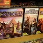 [08/08/2014] 7 Wonders – Leaders + Cities