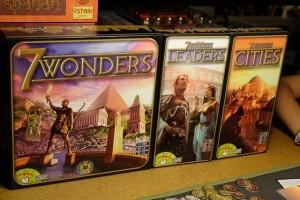 Et un ! Et deux ! Et trois boîtes de jeux !
