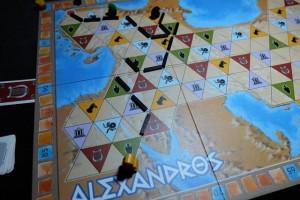 Fin de deuxième tour de jeu... Quelle progression d'Alexandre vers le sud ! Impressionnant...
