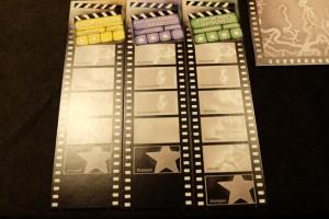 """Mes trois premiers films à réaliser, avec de beaux espoirs mis sur le film """"vert"""", lequel comporte déjà pas moins de 4 étoiles avant même d'être tourné !"""