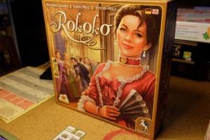 La superbe boîte d'un super jeu que je suis ravi de faire découvrir à François ce soir...
