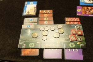 L'autre Tristan réussit à terminer sa merveille d'Alexandria, tout en ayant de jolis succès militaires aussi. Par contre, cartes vertes et bleues semblent bien manquer...