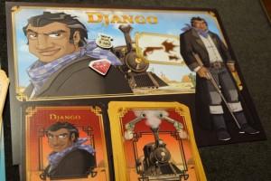 Django, le personnage de mon gone, ne lui aura pas permis de récupérer autre chose que 750 $ et le titre de meilleur gâchette de l'ouest !