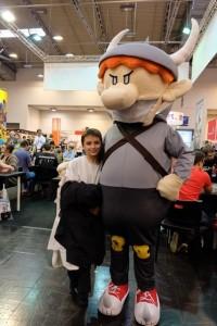 Une autre mascotte : Munchkin ! Allez !!!