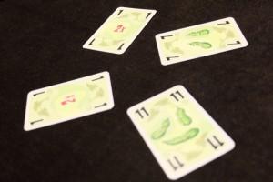 Aïe, là ça assure clairement ma défaite, avec pas moins de 4 fois mes 3 cornichons indiqués pour finir...