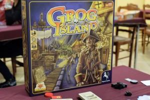 Grog Island semble être un jeu de pirates assez fun, avec pas trop de règles. Une fois celles-ci lues en détails, on s'aperçoit que l'on a affaire à un jeu d'enchères particulièrement original...
