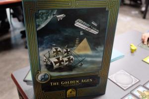 N'est-ce pas magnifiquement immersif quand même ? Et ce côté vieux livre que l'éditeur Quined Games propose me séduit encore davantage...