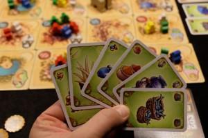 Oui, effectivement, cette fois je mise sur les cartes ! Il faut dire que certaines d'entre elles, assez rares (puisque présentes seulement deux fois), sont déjà sorties...