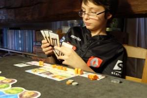 Et c'est justement ce que Tristan aime faire ! Donc, forcément, il adore ce jeu...