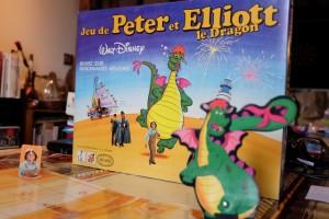 Magnifique boîte de mon enfance... avec, au premier plan, le non-moins magnifique Elliott avec sa queue orientable !