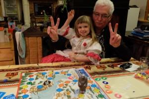 Egalité : Leila et son papy tous les deux vainqueurs !!!