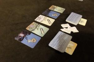 Première mission réussie ! Bravo mes amis ! Par contre, il nous reste des cartes en main et il faudra bien les passer à un moment donné...