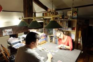 Ultime manche, à deux joueurs donc, entre Maitena et moi pour désigner le vainqueur...