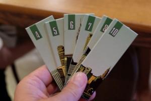 Allez, cette fois, c'est carrément 6 tuiles vertes que je possède en main ! Comment faire pour optimiser mes gains ?