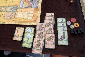 Tristan a réussi la jolie prouesse de collecter absolument toutes les cartes de senets que comporte le jeu ! Pas mal gamin...