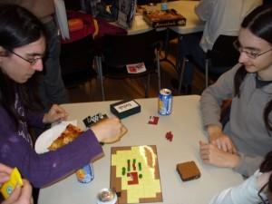 Le jeu en démonstration lors du Festival des Jeux en Beaujolais le 17 janvier 2010...