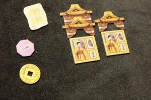 Les deux dernières pagodes de Tristan, qui a vraiment subi les derniers tours en voyant fondre ses possessions et son avance. Notons qu'il a essayé une courageuse, mais finalement vaine, stratégie liée aux parchemins et aux courtisanes...