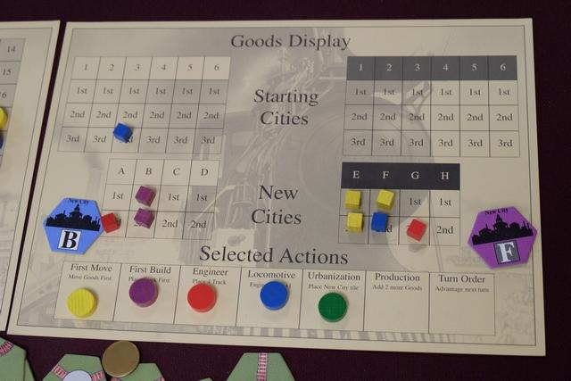 Au dernier tour, j'ai choisi d'urbaniser, histoire de marquer encore quelques points.