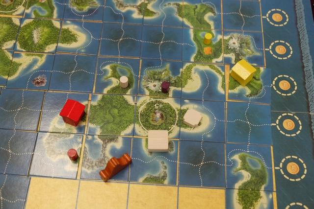 La deuxième île bonifiée est décomptée à présent. Dommage que Quentin engrange autant que moi...
