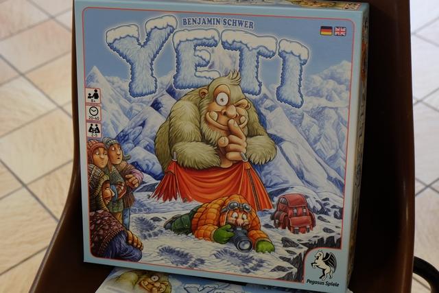 Yeti nous avait séduits lors de la partie de découverte à deux joueurs : il fallait bien qu'il ressorte rapidement à nombreux !