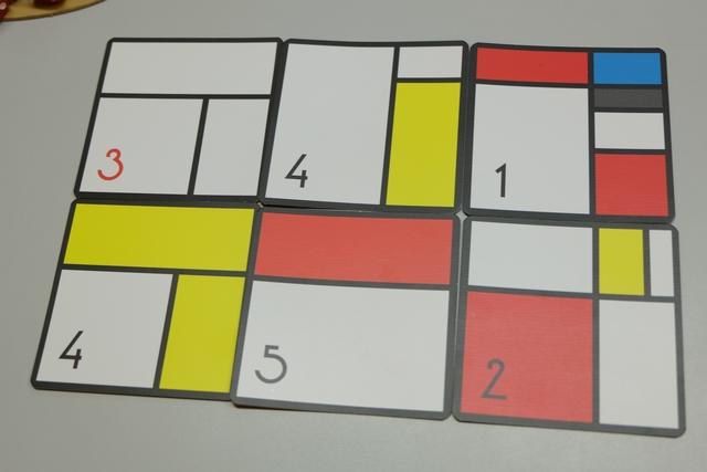 Angélique se la joue Mondrian avec ce bilan...