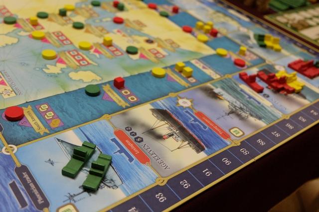 Ca y est, on s'en rapproche : j'ai placé deux bateaux dans la dernière zone, en changeant d'âge au passage...
