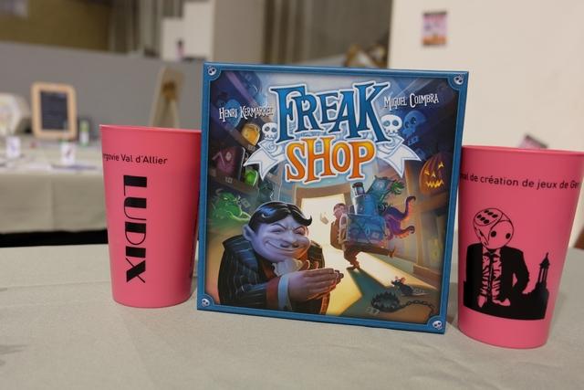 Freak Shop est plutôt bien entouré au Festival Ludix ! Va y avoir de la concurrence...