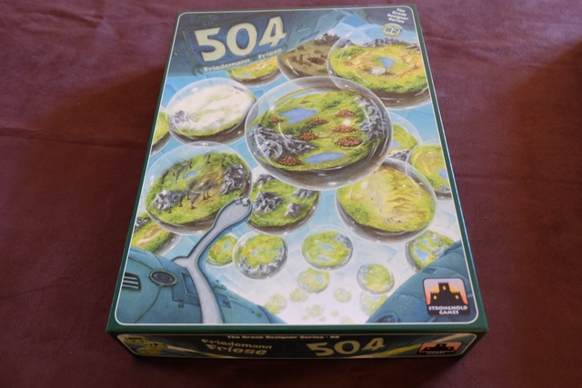 L'énorme boîte de 504 est -ENFIN- sortie ! On va pouvoir déguster la première règle des 504 que contient la boîte, à savoir la règle 123...