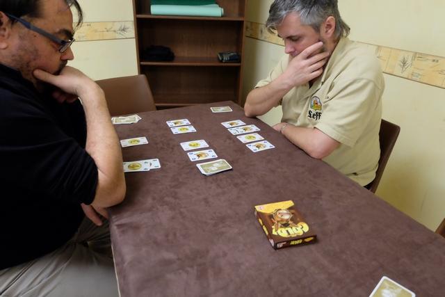 Oui, le jeu donne à penser, d'autant plus que les cartes ânes valent -2PV...