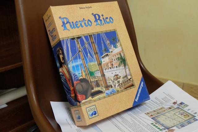 Éternelle boîte de Puerto Rico !