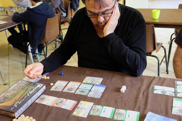 Jean-Luc est redoutable pour conserver nombre de jetons de ressources, une monnaie pas très facile à amasser... sauf pour lui !