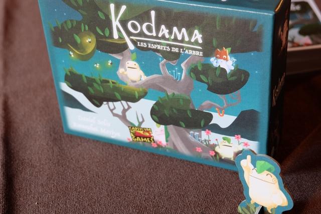 Très jolie petite boîte avec un thème de jeu qui a tendance à faire rêver : les esprits de l'arbre...