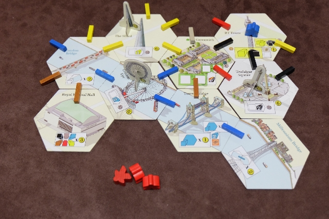 Et mon domaine, avec mon but atteint : avoir construit en 3D le London Eye, The Shard et Trafalgar Square. Joli tiercé...