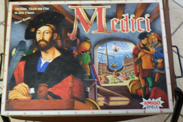 On ne présente plus Medici... Enfin, si, à des joueurs pas si anciens que ça dans les jeux modernes... ;-)