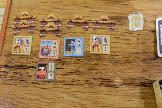 Le domaine de Yohel, assez appauvri en nombre de personnages, mais avec un moine âgé pour 4 PV quand même...