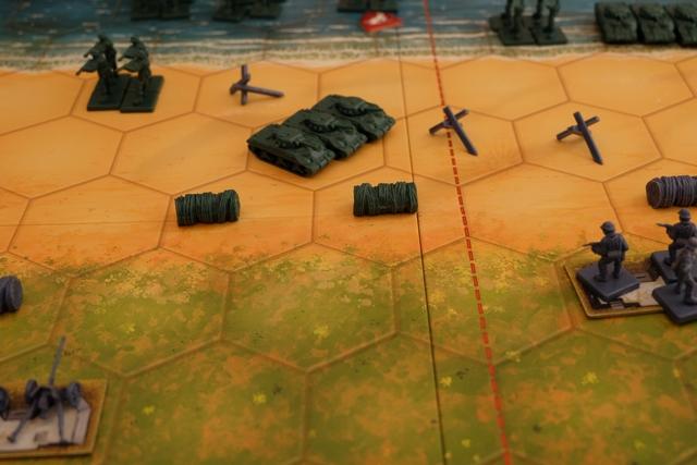 Les alliés ont débarqué et progressent de manière assez efficace avec leurs chars...