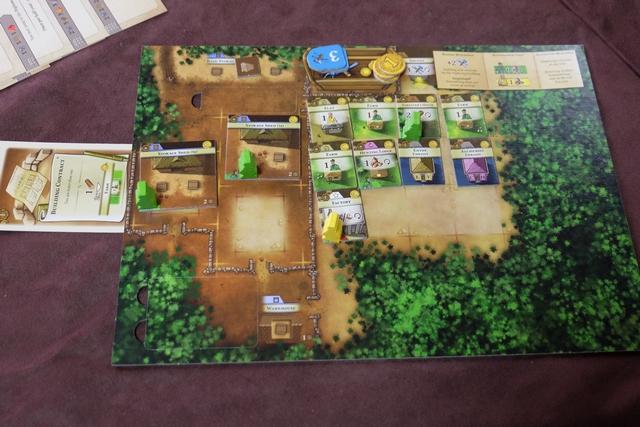 Tristan n'a pas tout rempli, lui, mais il a construit le plateau que j'aurais aimé faire : avec deux ambassades, il a réussi à bien découvrir cet aspect du jeu. Bravo !