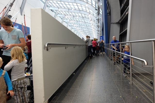 Mon passage obligé, avec mon diable, pour rejoindre le Hall 2 depuis la Galeria... Arpenté une bonne dizaine fois, je voulais immortaliser ce lieu !